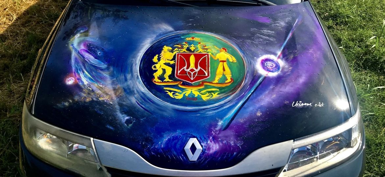 car paintings universe